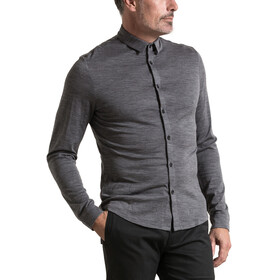 Alchemy M's 180GSM Single Jersey Merino Shirt Grey Marle